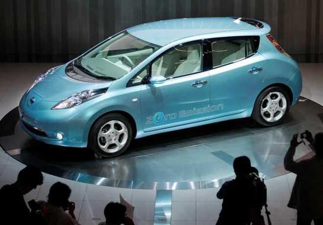 Nissan leaf a noleggio lungo termine for Idea casa sarno