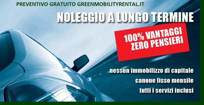 NOLEGGIO A LUNGO TERMINE ECOLOGICO - GREEN MOBILITY RENTAL