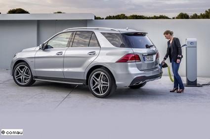 Mercedes 4matic 500e ibrida noleggio a lungo termine