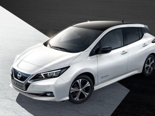 Nissan Leaf a noleggio lungo termine