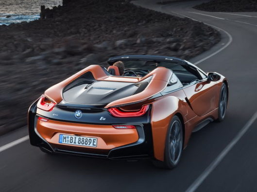 bmw-i8-roadster-2018 a noleggio lungo termine