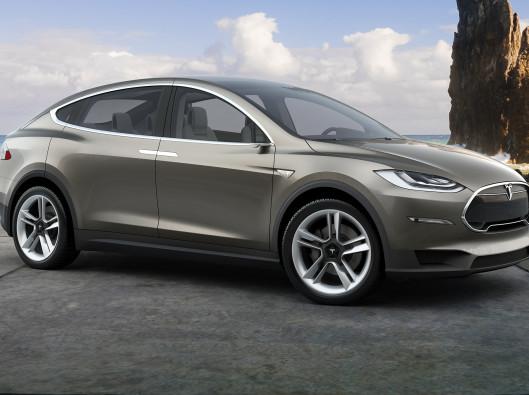Tesla Model X a noleggio a lungo termine