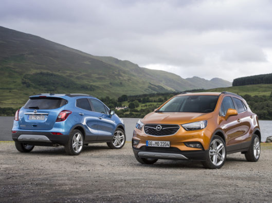 Opel-Mokka-X a noleggio lungo termine