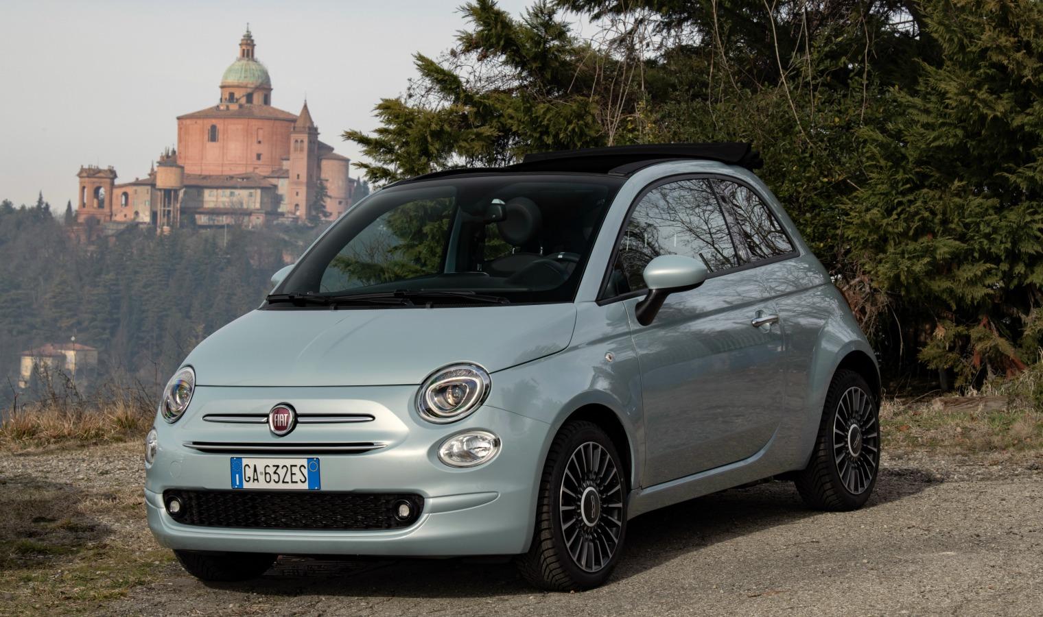 Nuova-Fiat-500-Hybrid a noleggio lungo termine