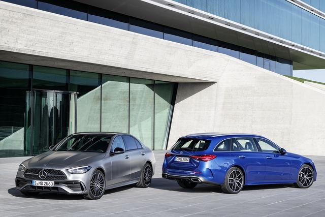 Mercedes Classe C a noleggio lungo termine, tutta nuova