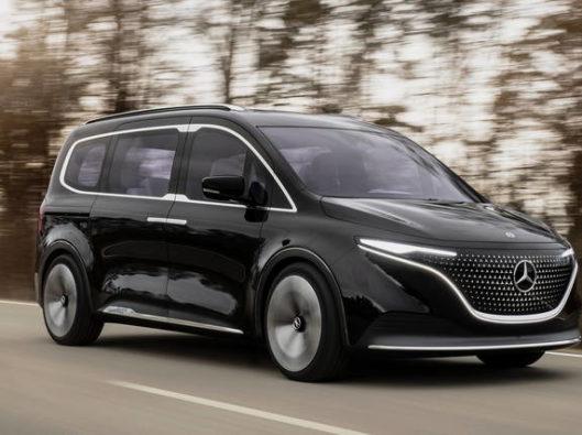 Mercedes EQT a noleggio lungo termine